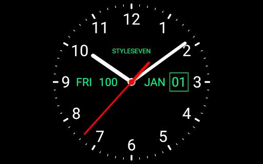Analog Clock Live Wallpaper-7 screenshot 7