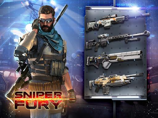 Sniper Fury: Online 3D FPS & Sniper Shooter Game screenshot 1
