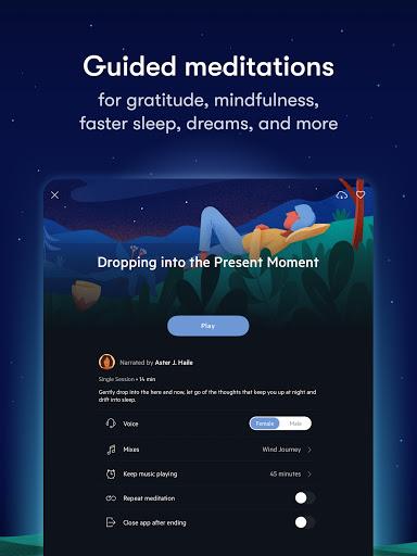 Relax Melodies: Sleep Sounds, Meditation & Stories स्क्रीनशॉट 12