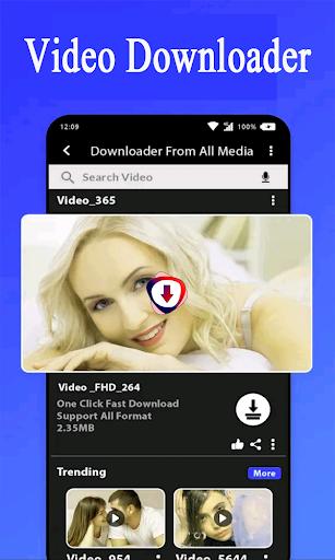 Video Downloader App 2021 screenshot 1