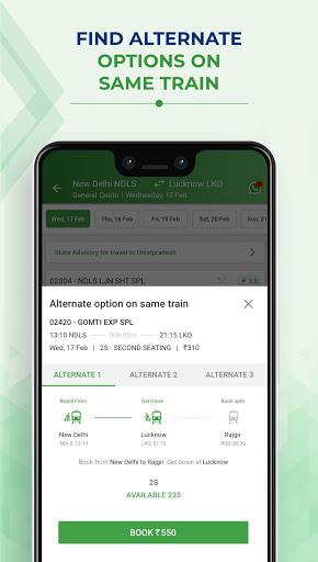 IRCTC Train Booking - ConfirmTkt (Confirm Ticket) screenshot 5