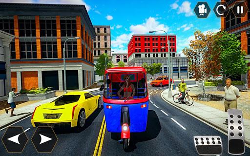Tuk tuk Chingchi Rickshaw: City Rickshaw driver screenshot 3