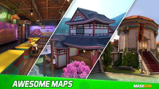 MaskGun - Online multiplayer FPS shooting gun game screenshot 6