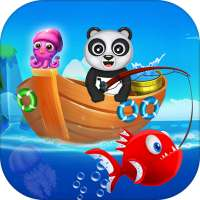 Happy Fisher Panda: Ultimate Fishing Mania Games on 9Apps