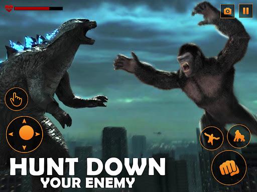 Monster Gorilla Attack-Godzilla Vs King Kong Games screenshot 10