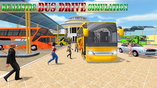 moderno autobus guidare simulatore screenshot 1