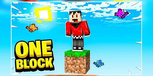 ONE BLOCK CHALLENGE FOR MCPE screenshot 2