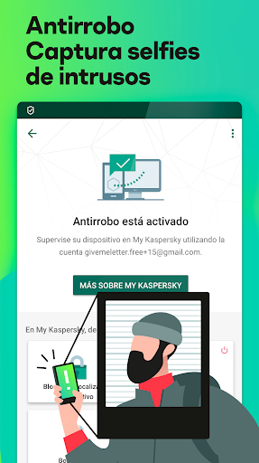 Kaspersky Antivirus Android Gratis - Seguridad screenshot 4