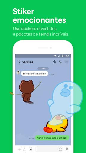 LINE:Chamadas&Mensagens Grátis screenshot 2