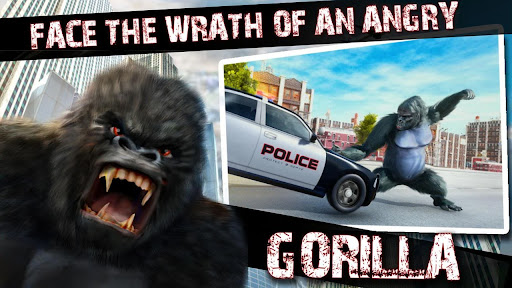 Monster Gorilla Attack-Godzilla Vs King Kong Games screenshot 6