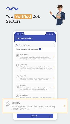 WorkIndia Job Search App - Work From Home Jobs 3 تصوير الشاشة