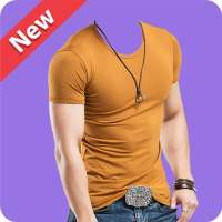Man T-Shirt Suit Photo Editor on 9Apps