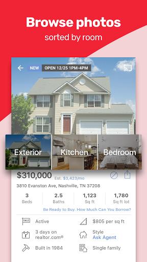 Realtor.com Real Estate: Homes for Sale and Rent screenshot 5