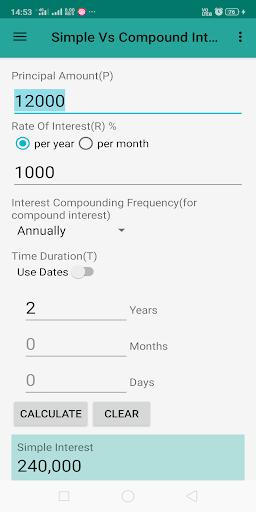 Interest Calculator screenshot 8