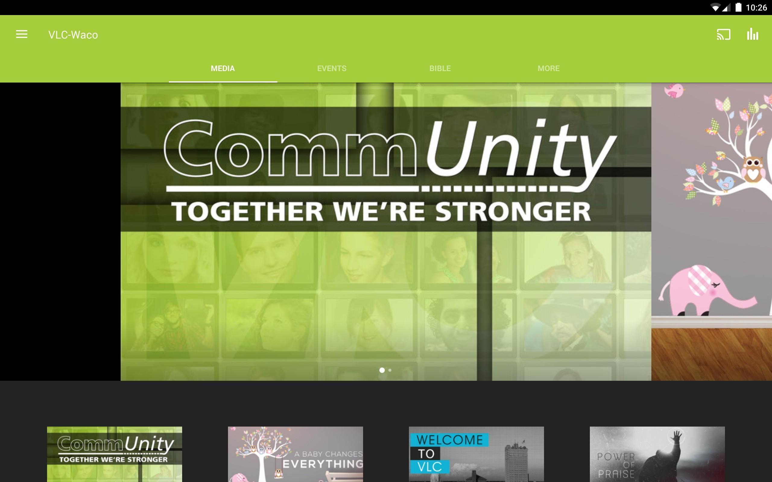 VLC-Waco screenshot 3