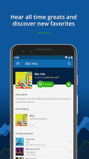 RadioTunes: Hits, Jazz, 80s, Relaxing Music screenshot 2