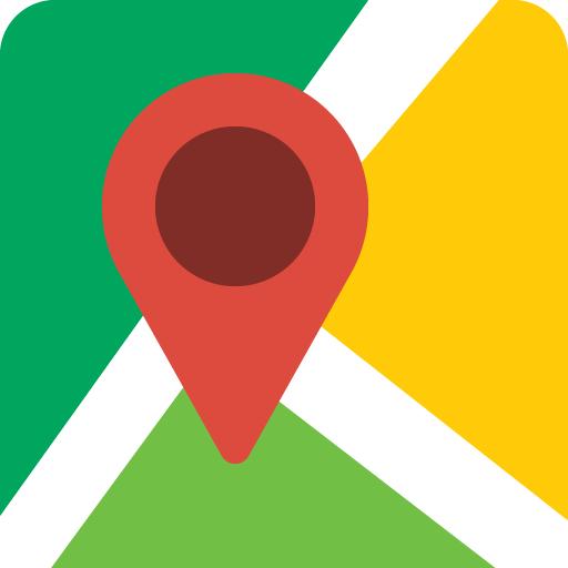 Navegação GPS ao vivo, mapas, direções e explorar icon