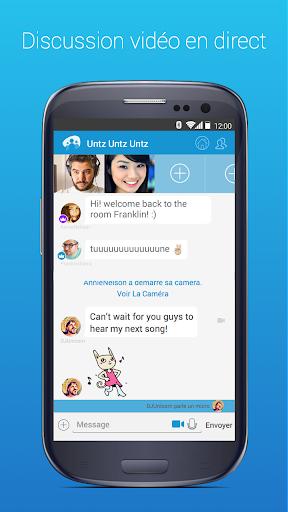 Chat, flirt, vidéo, avec inconnus ou amis: Paltalk screenshot 1