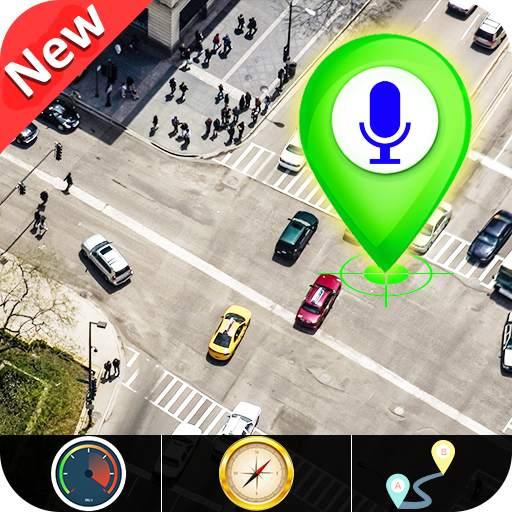 GPS Satellite - Live Earth Maps & Voice Navigation