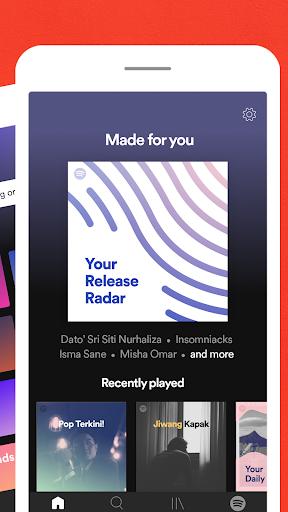Spotify - Muzik dan Podcast screenshot 3