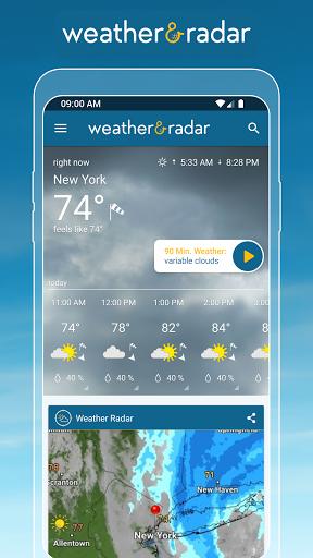 Weather & Radar - Storm radar screenshot 1