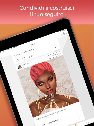 IMVU: social network con amici e chat room screenshot 12