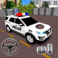 警察 パーキング 冒険  -  車 ゲーム ラッシュ 3D on 9Apps