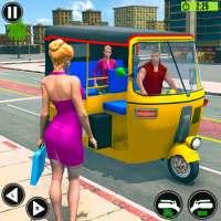 Offroad Tuk Tuk Auto Rickshaw: New Driving Games on 9Apps