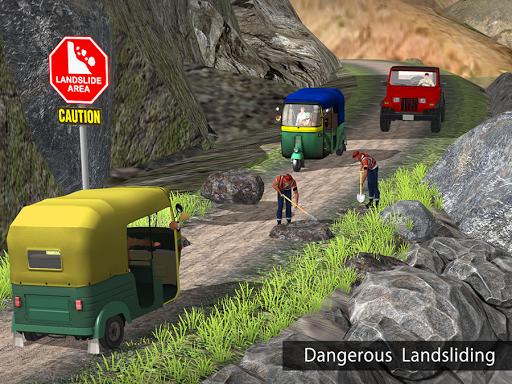Tuk Tuk Auto Rickshaw Offroad Driving Games 2020 screenshot 13