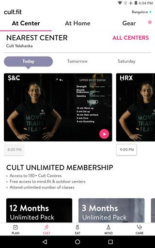 cult.fit Fitness, Meditation, Healthy food, Doctor screenshot 9