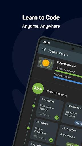 Sololearn: Learn to Code (Python, Javascript, etc) screenshot 1