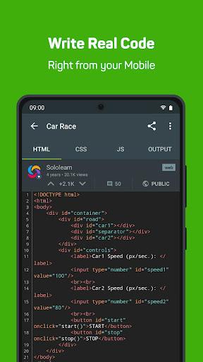 Sololearn: Learn to Code (Python, Javascript, etc) screenshot 4