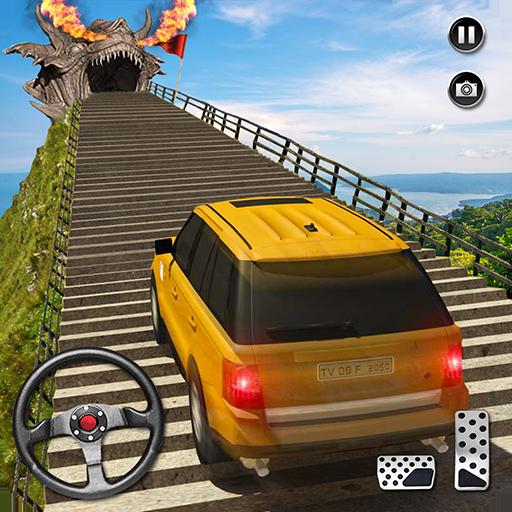 Ejderha Yol Sürme Simülatör: hız araba kaza Ölçek icon