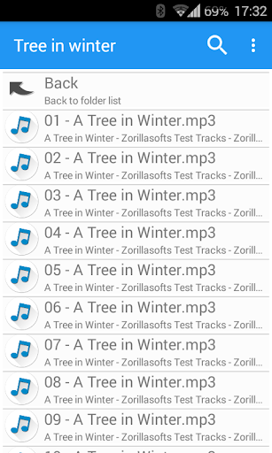 Music Folder Player Free screenshot 4