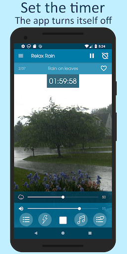 Relax Rain - Rain sounds: sleep and meditation screenshot 5