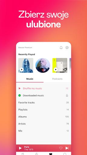 Deezer: muzyka, playlisty i podcasty screenshot 7