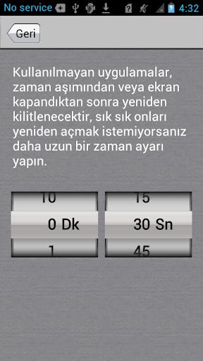 Uygulama Kilidi screenshot 5