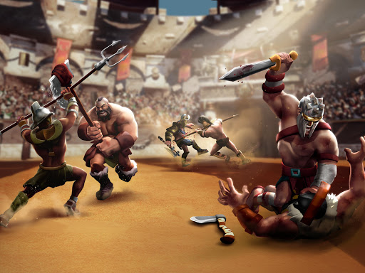 Gladiator Heroes - Fighting and strategy game screenshot 10