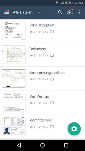 CamScanner-Kostenloser PDF- und Dokumentenscanner screenshot 7