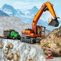 neige hors route construction Jeu on 9Apps