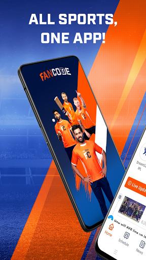 Watch LIVE Cricket & Fast Sports Scores: FanCode screenshot 1