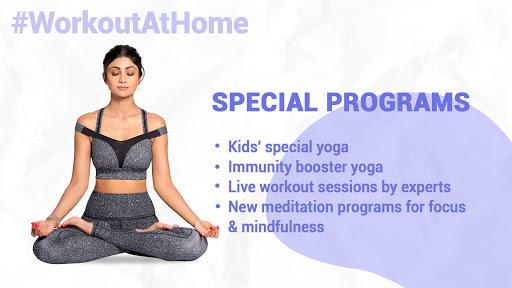 Simple Soulful - Shilpa Shetty: Yoga Exercise Diet 9 تصوير الشاشة