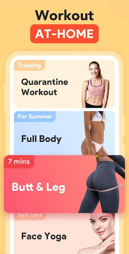 Workout for Women: Fit at Home screenshot 1