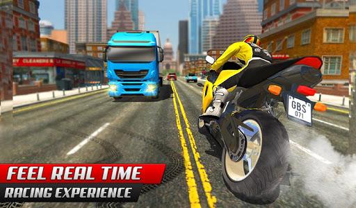 Highway Rider Bike Racing: Crazy Bike Traffic Race screenshot 8