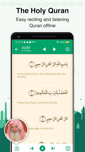 Muslim Prayer Times, Azan, Quran&Qibla By Vmuslim screenshot 4