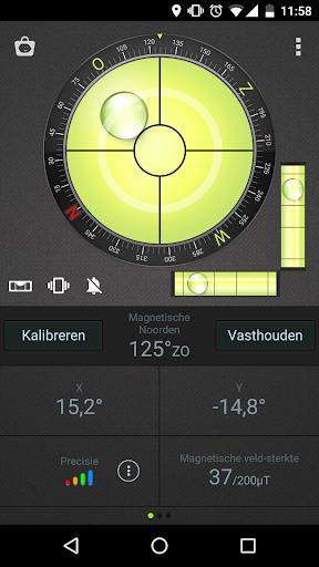 Waterpas Kompas & GPS screenshot 1