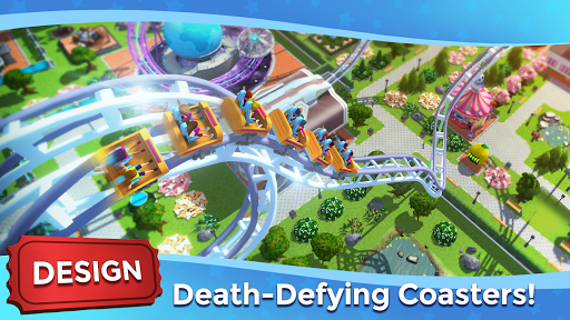 RollerCoaster Tycoon Touch - Build your Theme Park screenshot 2