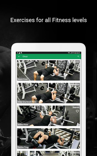 Fitvate - Home & Gym Workout Trainer Fitness Plans screenshot 20
