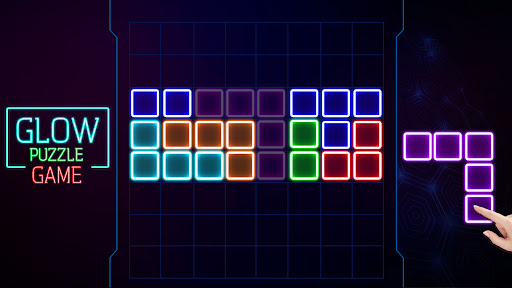 Glow Block Puzzle screenshot 15