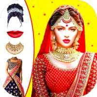 Bridally - Royal Indian Wedding Makeup editor app on 9Apps